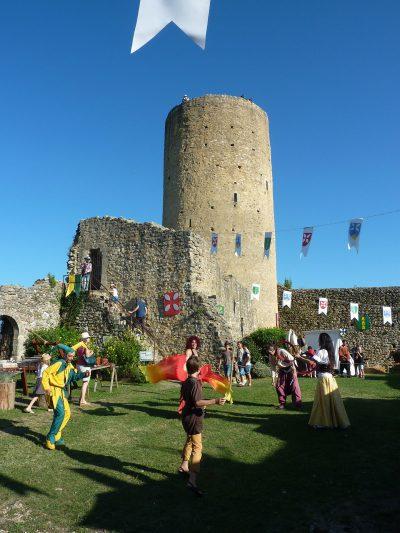 Le château comtal d'Aurignac